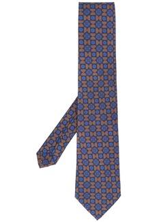 Etro patterned silk formal tie