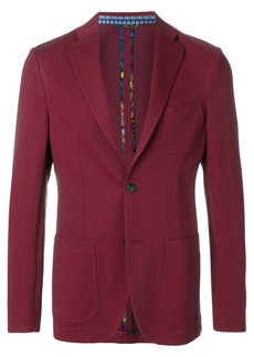 Etro patterned tailored blazer