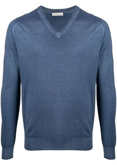 Etro pearled jersey knit jumper