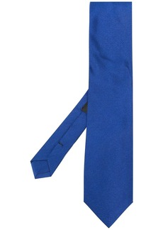 Etro Pegaso embroidery silk tie