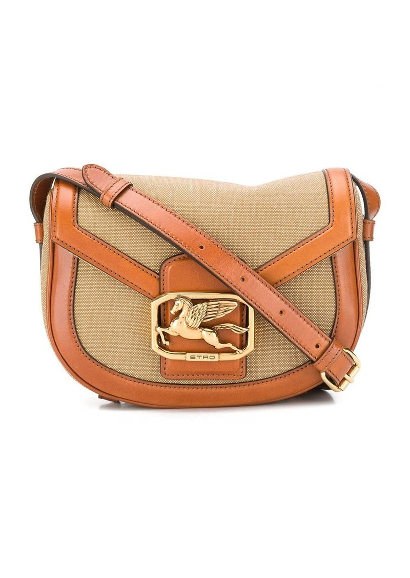 Pegasus buckle crossbody bag