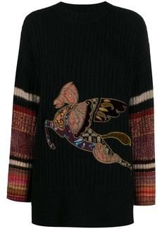 Etro pegasus sweater
