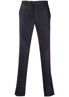 Etro pinstripe tailored trousers