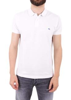 Etro Piqué Cotton Polo Shirt