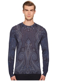 Etro Placed Paisley Sweater