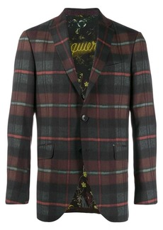 Etro plaid blazer jacket
