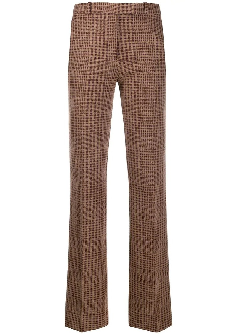 Etro plaid tailored trousers