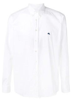 Etro plain button down shirt