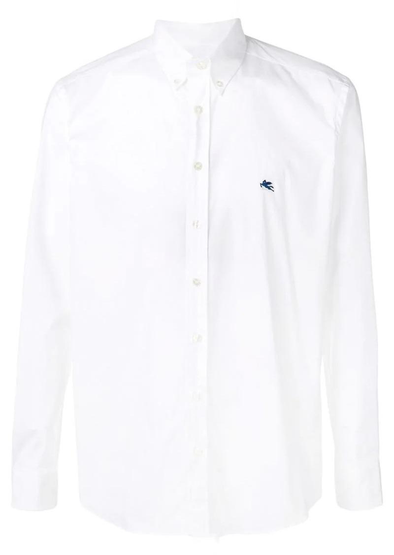 Etro plain button down shirt