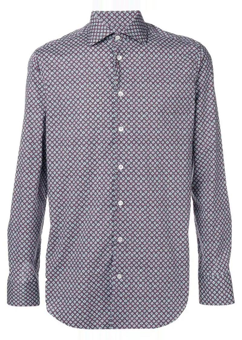 Etro printed button down shirt