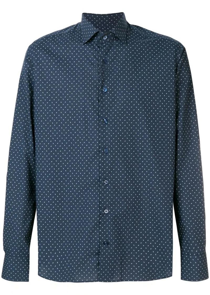 Etro printed button shirt
