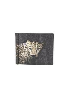 Etro printed foldover wallet