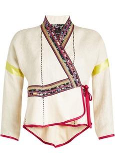 Etro Printed Linen Jacket