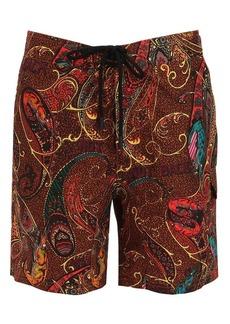 Etro Printed Paisley Bathing Suit