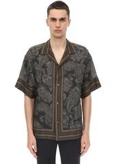 Etro Printed Paisley Bowling Shirt