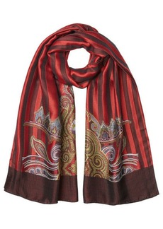 Etro Printed Scarf with Silk and Wool
