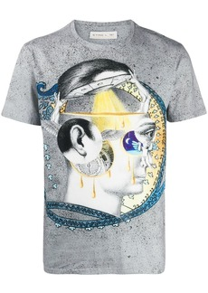 Etro printed short sleeve T-shirt
