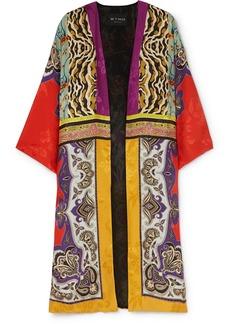 Etro Printed Silk-jacquard Jacket