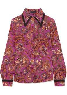 Etro Printed silk shirt