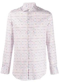 Etro printed slim-fit shirt