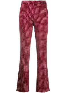 Etro printed slim-fit trousers