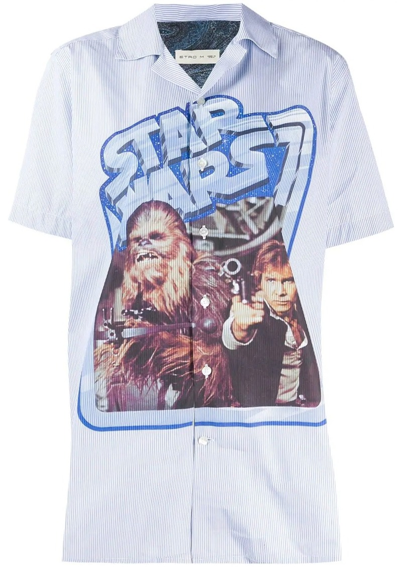 Etro printed Star Wars shirt