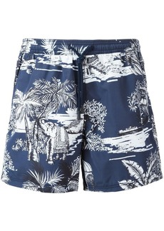 Etro printed swim shorts