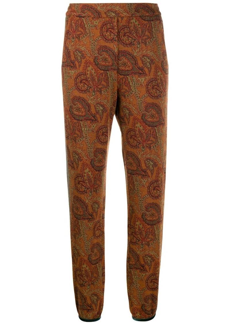 Etro printed track pants