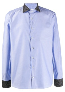 Etro printed trim shirt
