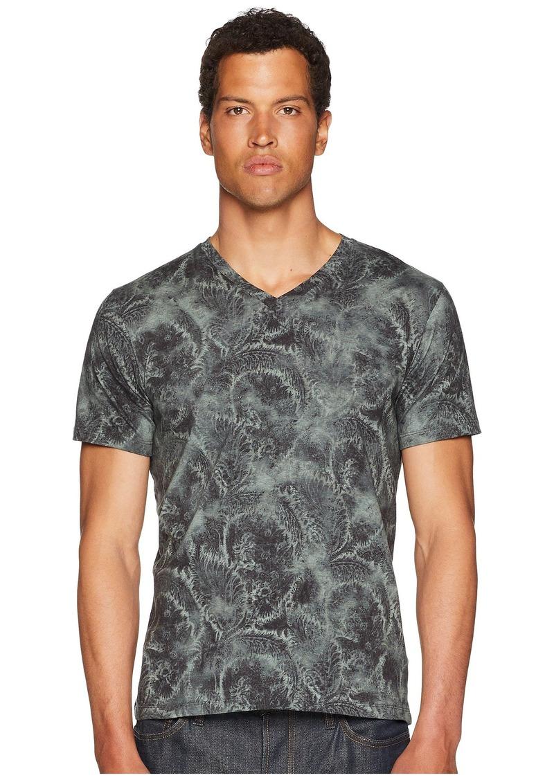 Etro Printed V-Neck T-Shirt