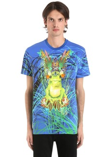 Etro Psychedelic Frog Cotton Jersey T-shirt