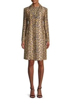 Etro Python Paisley Top Coat