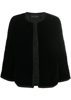 Etro quilted cape