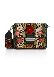 Etro Rainbow Carpet Floral Embroidered Shoulder Bag