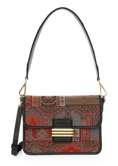 Etro Rainbow Neo-Nomad Tapestry Embroidered Shoulder Bag