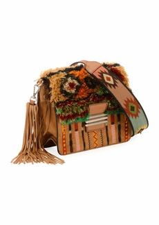 Etro Rainbow Rug Stripe Embroidered Shoulder Bag