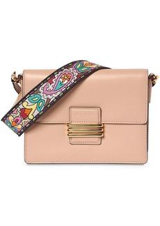 Etro Rainbow Strap Leather Shoulder Bag
