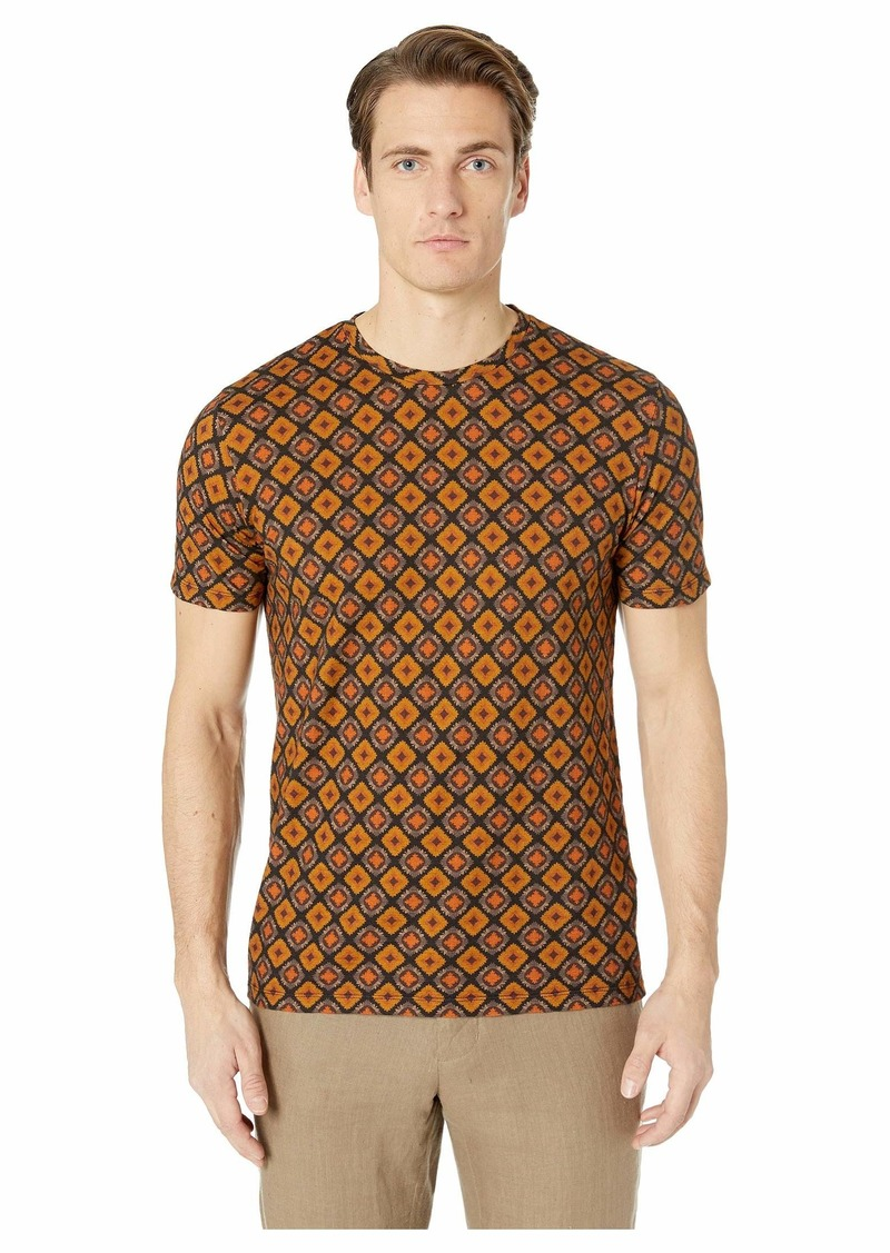 Etro Regular Fit Medallion T-Shirt