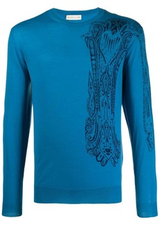 Etro regular-fit paisley pullover