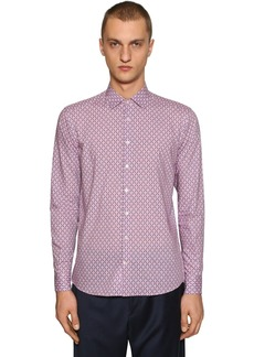 Etro Reindeer Print Cotton Shirt