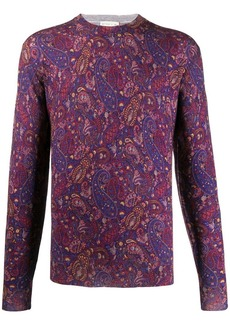 Etro relaxed-fit paisley pullover