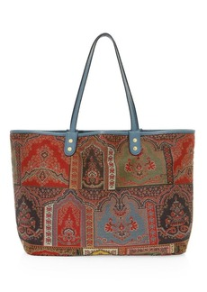 Etro Reversible Neo-Nomad Tapestry Embroidered Tote