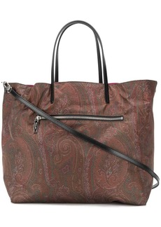 Etro reversible shopper tote