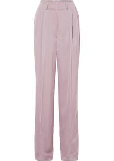 Etro Satin-crepe wide-leg pants