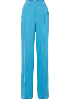Etro Satin-crepe Wide-leg Pants