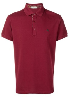 Etro short sleeve polo shirt