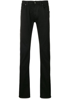 Etro side printed jeans