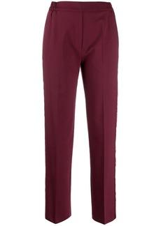 Etro side stripe cropped trousers