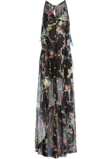 Etro Silk Chiffon Maxi Dress