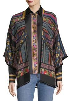 Etro Silk Kimono Top